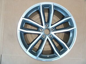 17 20 Audi A5 S5 A4 Wheel Oem Rim 8 5x19 Seal Gray Machined 5 Split Spoke 19