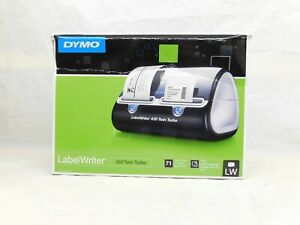 New Dymo Label Writer 450 Twin Turbo Label Thermal Printer 4 Extra Label Rolls