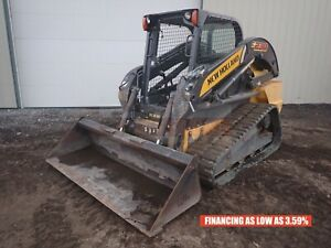 2015 New Holland C238 Track Loader Orops Aux Hyd 2 Speed 1347 Hrs 90 Hp