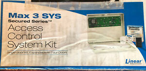 Fire Alarm Linear Max 3 Sys Secured Series Access Control System Kit New