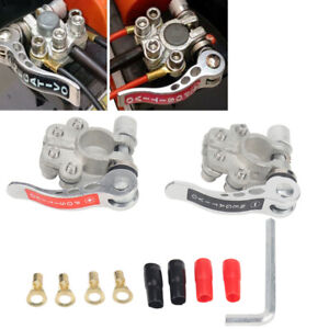 Heavy Duty Pure Copper Car Battery Terminal Disconnect Switch Link Kit Universal