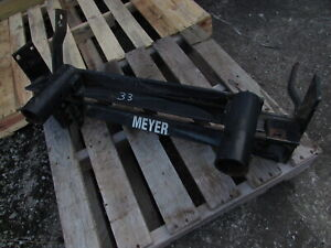 Used Meyer Snow Plow Classic Mount 17094 1988 2001 Chevy Gmc 2500 3500 2wd Only