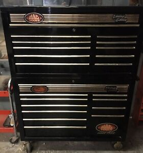 Mac 60th Anniversary Limited Edition Tool Box Top Bottom 21 Drawers