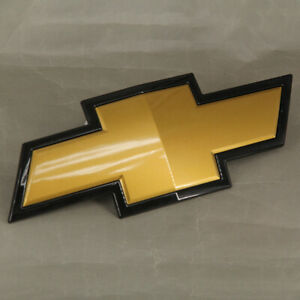 Oem Gm Front Grille Bowtie Gold Emblem For 2007 2013 Chevy Silverado 1500