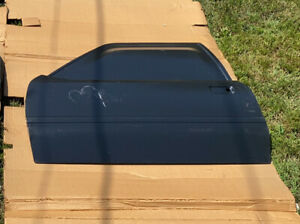 84 86 Ford Mustang Oem Drivers Side Door Skin For T tops Convertibles Nos