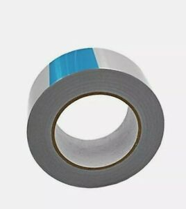 55 Yards 3 1 Mil Aluminum Foil Tape Heavy Duty Adhesive Tape For Hvac Etc