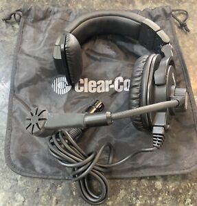 Clear com Cc 300 x4 Single Ear Closed back Hyper cardioid Headset W Mic 4 pin