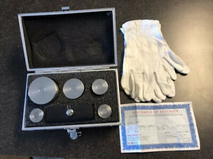 Troemner Calibration Stainless Steel Test Set Class F W nvlap 1mg 2kg