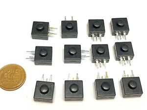 12 X Latching Push Button Switch Smd On off Flashlight Mini Small Torch 1a B27