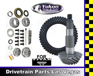 Ring Pinion Gear Set For Nissan Titan 04 15 Rear End 3 36 Ratio Master Kit Yukon