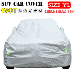 3 Layer Car Suv Cover Outdoor Waterproof Scratchproof Breathable Rain Snow Uv