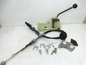 Toyota Tercel Paseo Manual Shifter Cables Lever Linkage Assembly Swap Wire 91 99