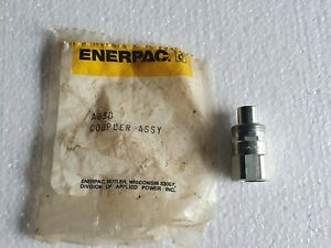 Enerpac Ah630 Hydraulic Coupler Male Half 1 4 10000 Psi Regular lot Of 67 Nos