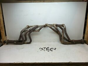 70 81 Camaro Small Block Chevy Flowtech V8 350 5 7 305 Exhaust Long Tube Headers