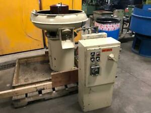 Used Almco Or 3 Bowl Vibratory Finisher