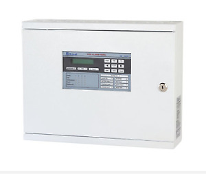 Ravel Fire Alarm Control Panel Conventional 8 Zone C white L Ul listed