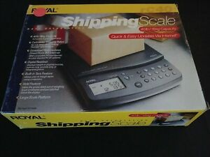 Royal 40 Pound Digital Rate Calculating Shipping Scale Rc40 40lb Nob G2