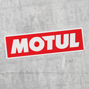 Motul Sticker Vinyl Decal Laptop Bottle Motor Oil Car Racing Jdm Performance