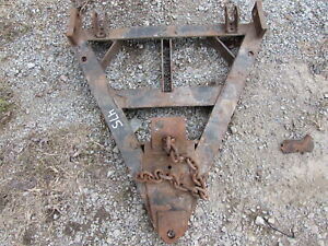 Used Western Snowplow A Frame Assembly For Unimount Style Plow