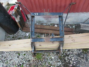 Used Western Snowplow Lift Frame Headgear Assembly For Unimount Style Plow