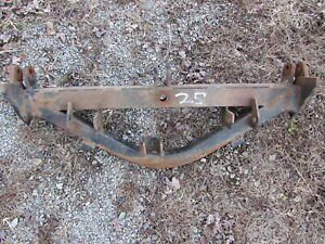 Used Western Snowplow Sector Quarant Assembly For Unimount Style Plow