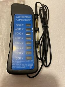 Electric Fence Voltage Tester 600 7000 V Fence Protection Animal Fences