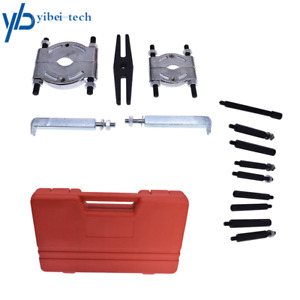 Bearing Puller Separator Set 2 3 Splitters Long Jaw Gear Pulley Removal Tool