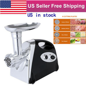 2800w Electric Meat Grinder Chopper Mincer Sausage Stuffer Home Commercial Use
