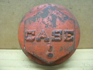 Vintage Case Steam Tractor Thread On Wheel Dust Cover Grease Cap Farm Machinery
