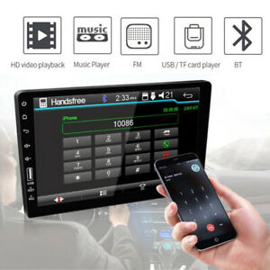 9 2din Touch Screen Bluetooth Usb Car Radio Stereo Mp5 Player For Android ios