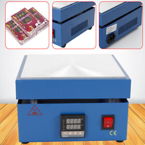 Electronic Hot Plate Preheat Preheating Station 850w 200 200 20mm Soldering Work