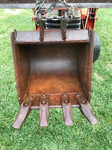 Kubota Backhoe Bucket 16 Bt1952 Hardly Used