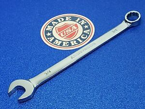 Vintage Armstrong Usa 3 4 Long Combination Wrench 25 224 Ships Free Tool Lot