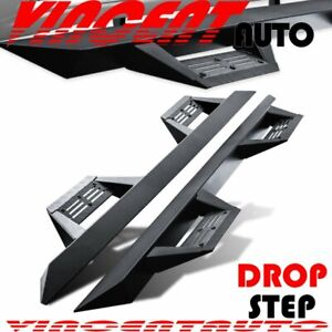 Fit 07 18 Silverado Sierra 1500 Crew Cab Step Board Running Boards Nerf Bar