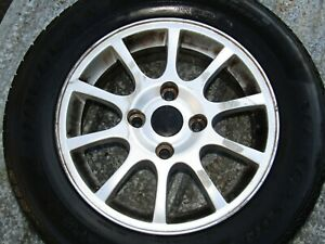 2002 2004 Volvo S40 Oem Factory 15 Inch Wheel 2 imperfections Pictured 03 04