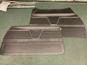 1969 Chevy Chevelle El Camino Un Assembled Front Door Panels Distinctive