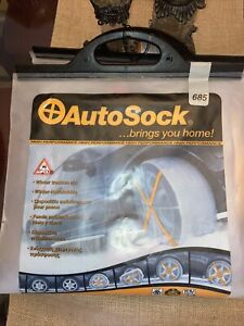 Autosock Snow Socks 685 Traction Wheel Covers For Snow Ice Easy To Use
