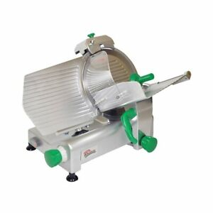 Primo Ps 12 Manual Feed Meat Slicer With 12 Blade Belt Driven
