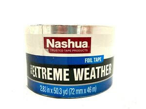 Nashua 330x Extreme Weather Hvac Foil Tape 2 83 In X 50 Yd