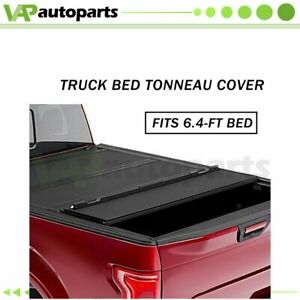 Hard 4 fold Tonneau Cover For 2014 2016 Dodge Ram 1500 Express 6 4 Bed Truck