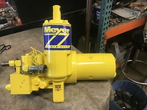 Meyer E 60 E 60 Power Angle Snow Plow Pump Replace E 47