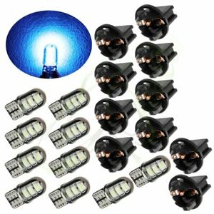 10x Ice Blue Led Instrument Dash Cluster Light Bulbs T10 194 168 2825 For Dodge