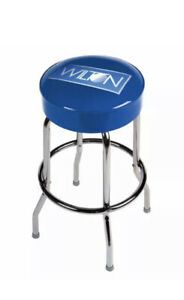 New Wilton Tool Bar Stool Royal Cushion Chrome Plated Metal Man Cave Workshop