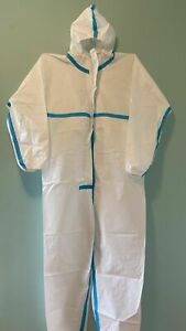 Hazmat Protective Suit Gown Coverall Personal Protection free Mask