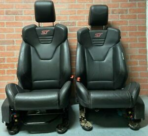 13 18 Ford Focus St Mk3 St3 Recaro Leather Oem Front Seats Rear