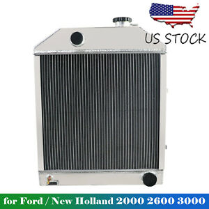 C7nn8005h Replace Aluminum Radiator Fit Ford new Holland 2000 2600 3000 3600