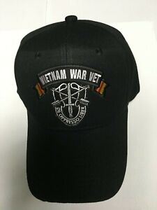 US ARMY SPECIAL FORCES VIETNAM WAR MILITARY HAT CAP $12.71