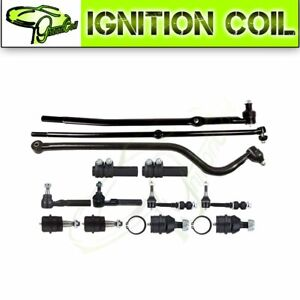 For 2000 2001 Dodge Ram 1500 13pc Steering Parts Front Tie Rod Suspension Kit