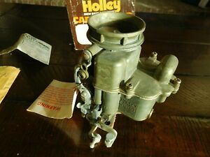 1938 1957 Nos Holley 94 Ford Flathead V 8 Replacement Carburetor Pass Truck