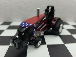 Case 1 64 Freedom To Farm Tractor Pulling Puller Hot Rod Truck 4x4 Ertl Pull Dcp